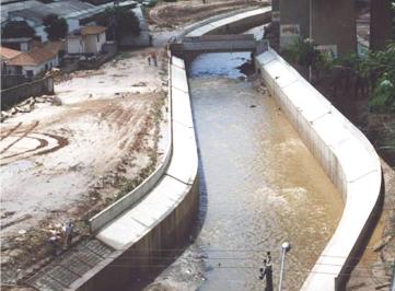 Melhoria da capacidade de vazão do Córrego Aricanduva e readequação do sistema viário.