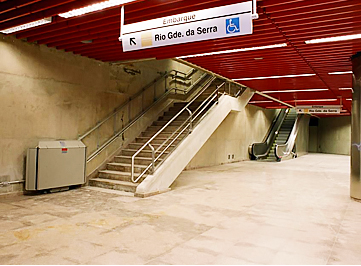Obra de interligação metrofessoviária para a CPTM feita pela TELAR