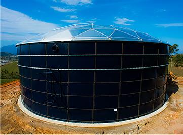 Obras de implantação do Sistema de Abastecimento de Água em Nova Iguaçu.