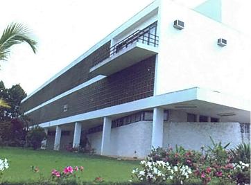 Construção do prédio do Paço Municipal da Prefeitura de Jacareí, SP.