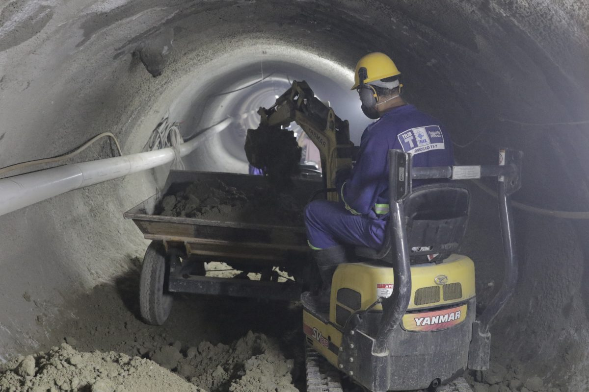 Obra de Saneamento Telar Engenharia